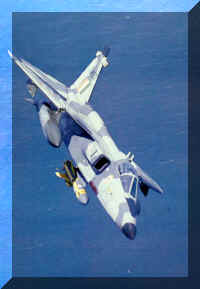 The Jaguar over the Arabian Sea